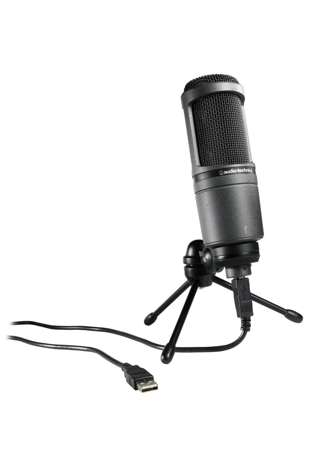 audio technica at2020 usb at2020 usb studio microphone. Black Bedroom Furniture Sets. Home Design Ideas