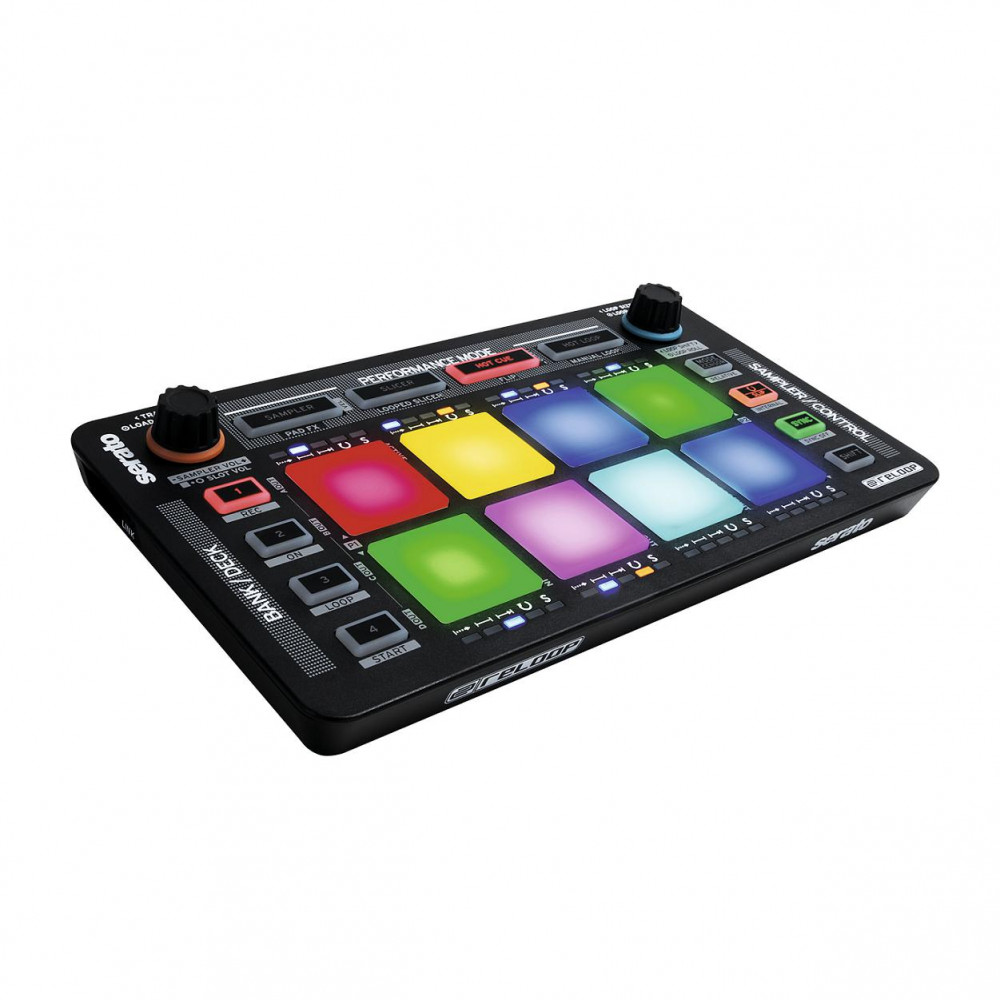 reloop neon neon modular drum pad controller for serato dj. Black Bedroom Furniture Sets. Home Design Ideas