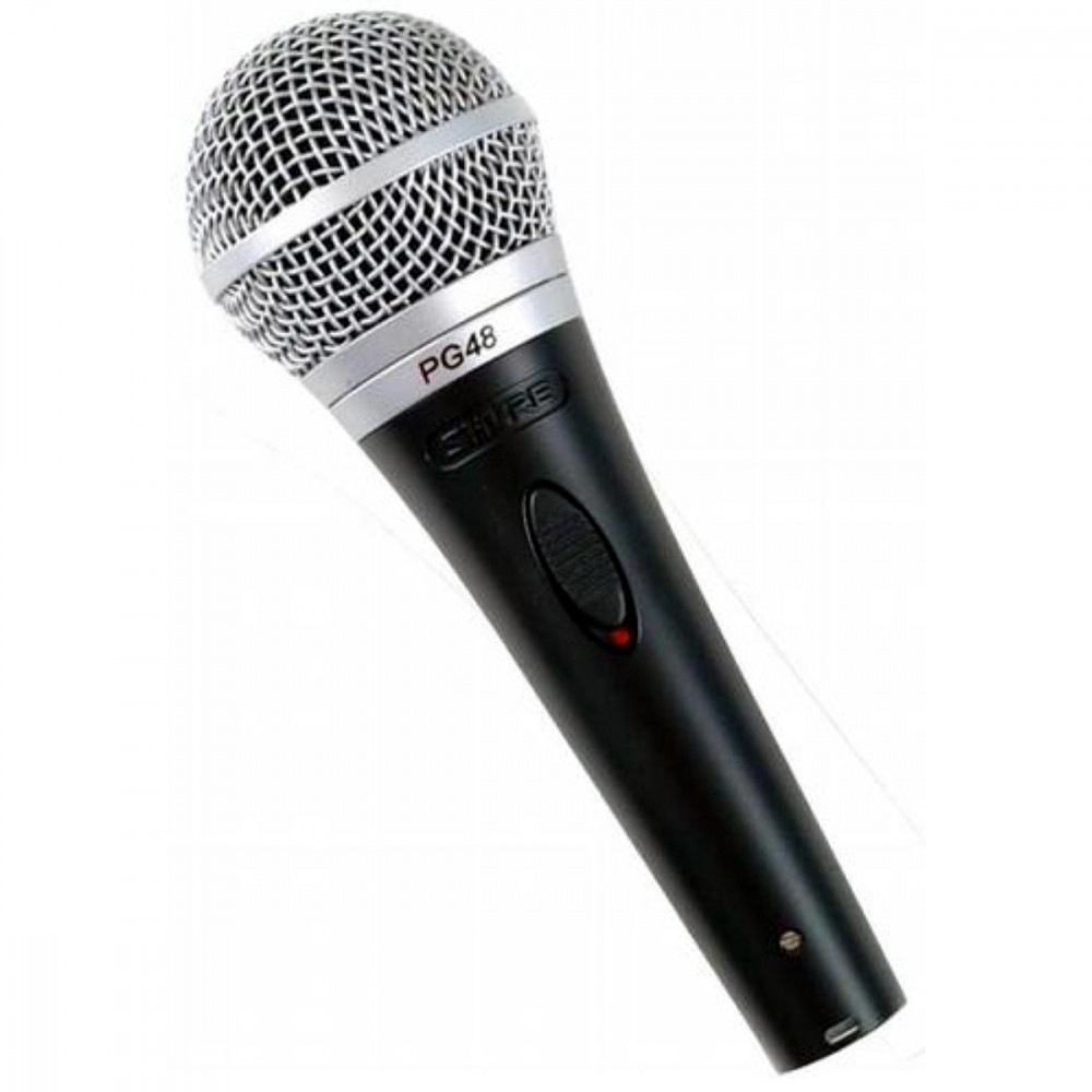shure pg48 xlr pg48xlr dynamic microphone with xlr lead westenddj london. Black Bedroom Furniture Sets. Home Design Ideas