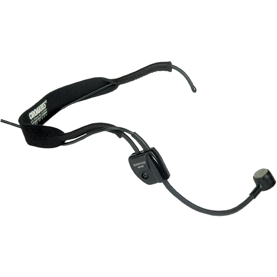 Shure WH20 Headset Microphone With XLR