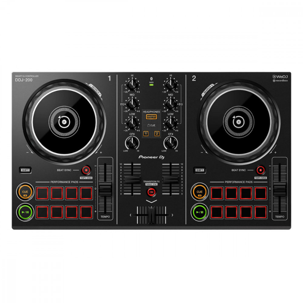 Pioneer DDJ-200 Rekordbox DJ Controller