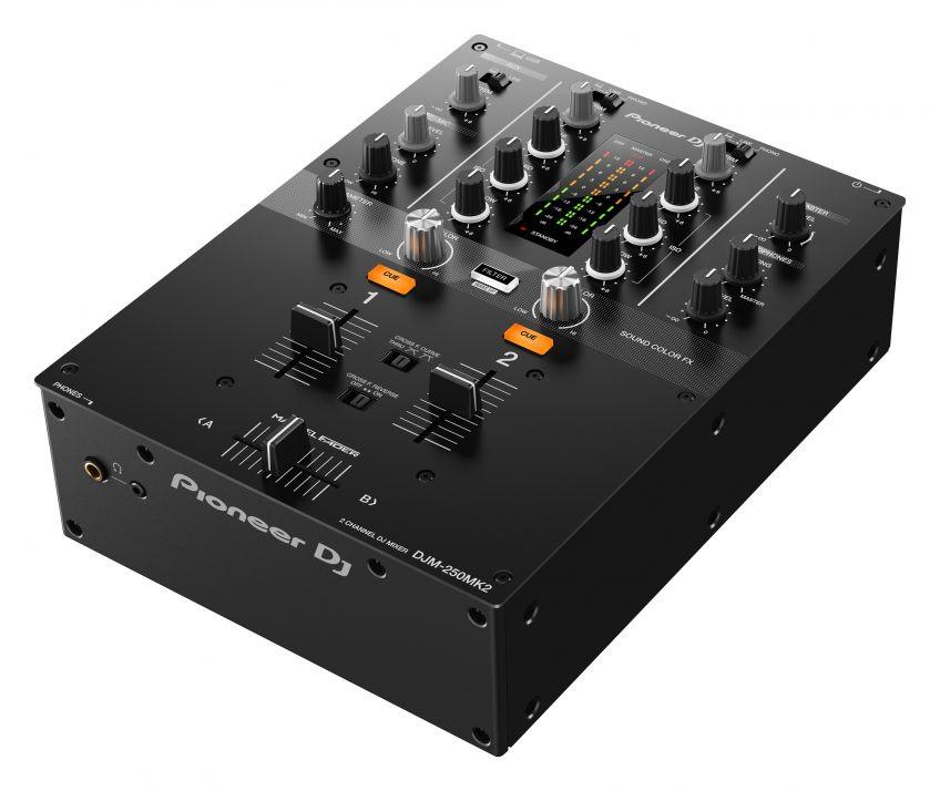 Pioneer Djm 250mk2 2ch Dj Mixer With Usb Interface