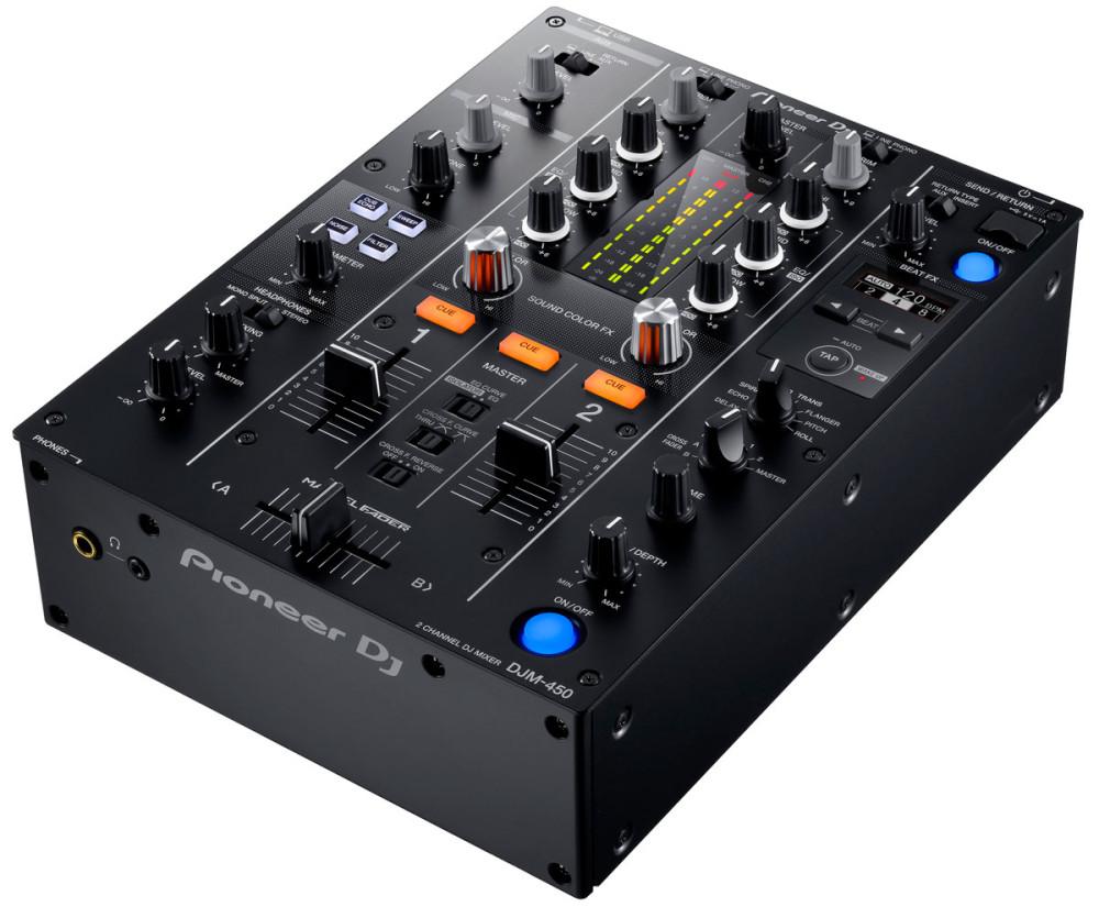 pioneer djm450 dj mixer