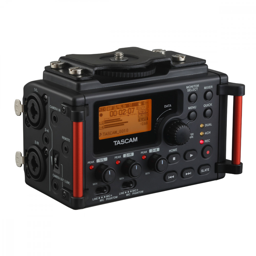Tascam Dr60d Mkii 4 Track Recorder For Dlsr Camera