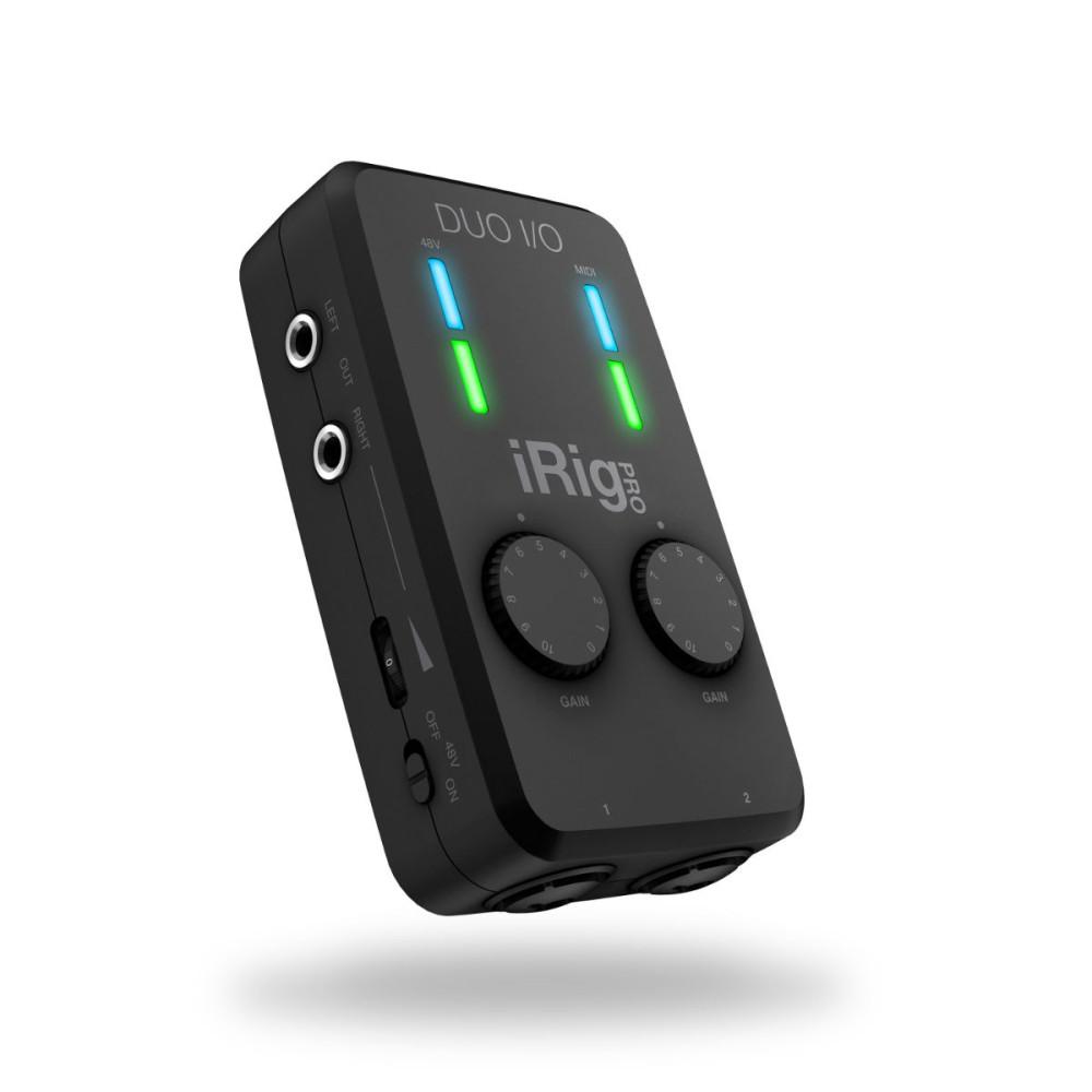 Ik Multimedia Irig Pro: IK Multimedia IRIG Pro Duo I/O Audio Interface