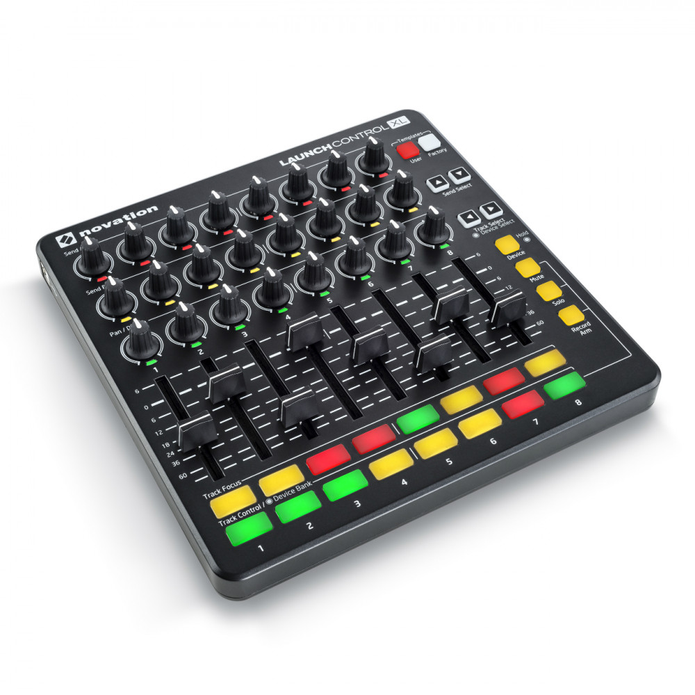 novation launch control xl midi controller black. Black Bedroom Furniture Sets. Home Design Ideas