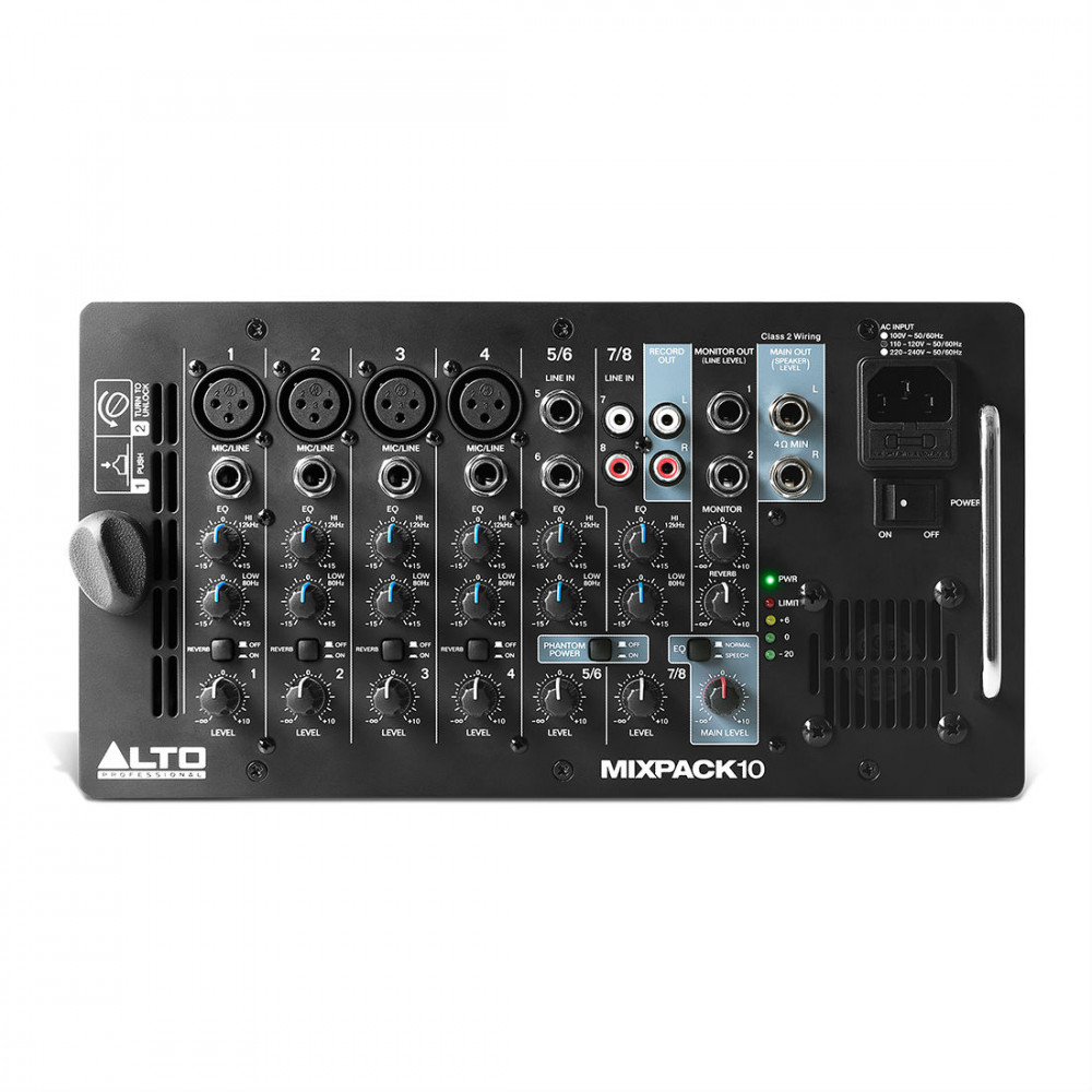 Alto Mixpack  Portable Pa System For Home Keyboard