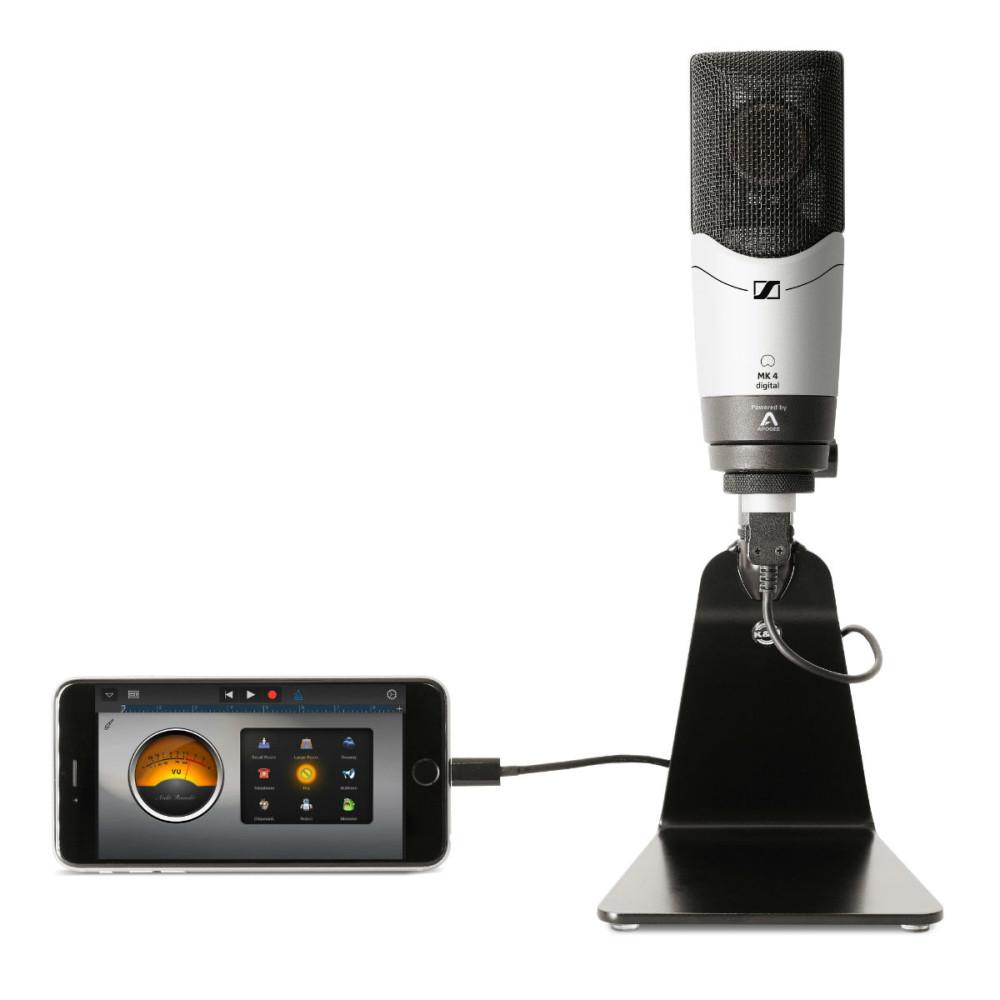 sennheiser mk4 digital large diaphragm condenser mic with built in apogee ad converter. Black Bedroom Furniture Sets. Home Design Ideas