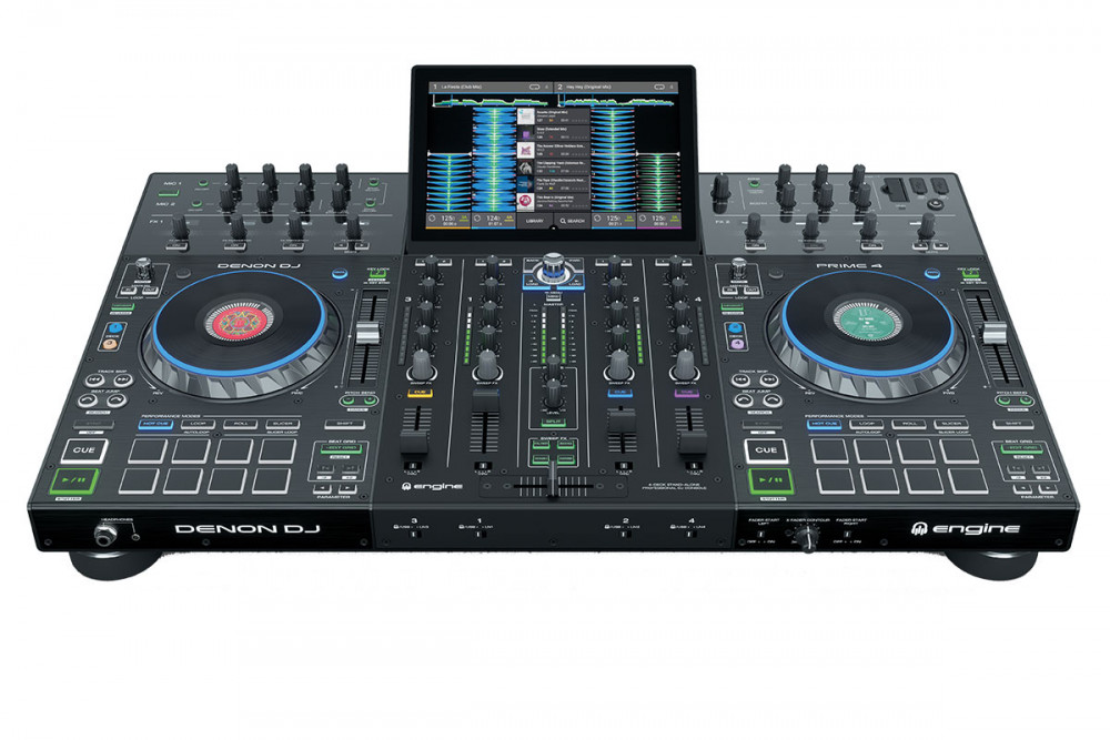 Denon Dj Prime 4 Stand Alone Player With Touch Screen