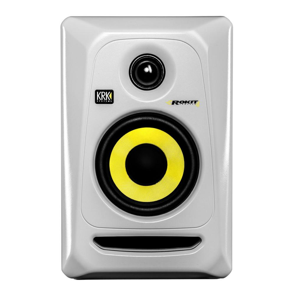 krk rokit 4 g3 white active studio monitor. Black Bedroom Furniture Sets. Home Design Ideas