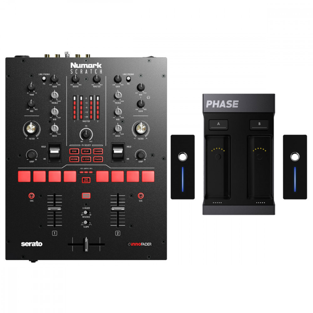 Numark Scratch & Phase Essential Bundle