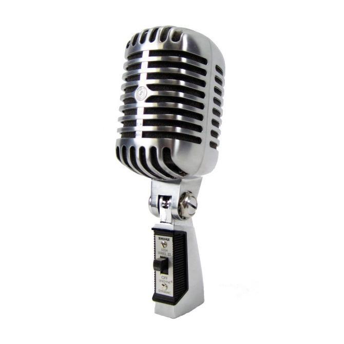shure 55sh 2 55sh series ii classic microphone westenddj london. Black Bedroom Furniture Sets. Home Design Ideas