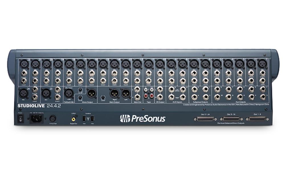Presonus Studiolive 2442 Studiolive 24 4 2 24 Channel