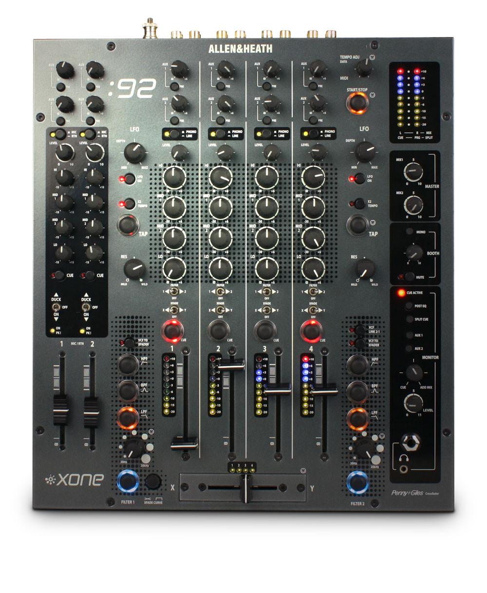 ALLEN & HEATH XONE-92 XONE:92 DJ Mixer | WestendDJ London