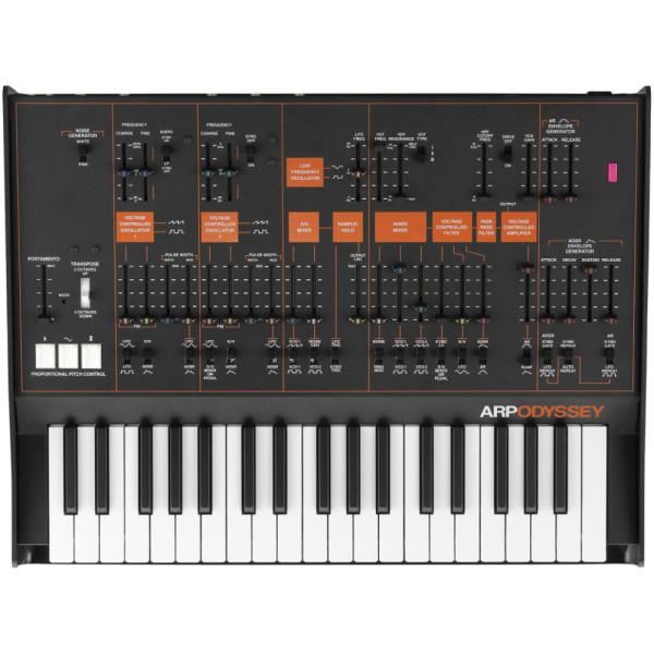 KORG ARP ODYSSEY Duophonic Analog Synthesizer Black/Orange (EX-DEMO)