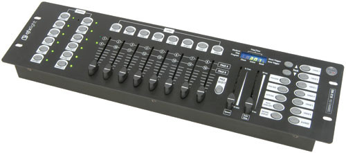 QTX DM-X10 192 Channel DMX Lighting Controller ( 154.091UK )