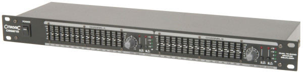 Citronic CEG215 Dual 15-Band Graphic EQ ( 170.923UK )