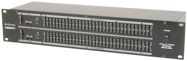Citronic CEQ231 Dual 31-Band Graphic EQ ( 170.926UK )