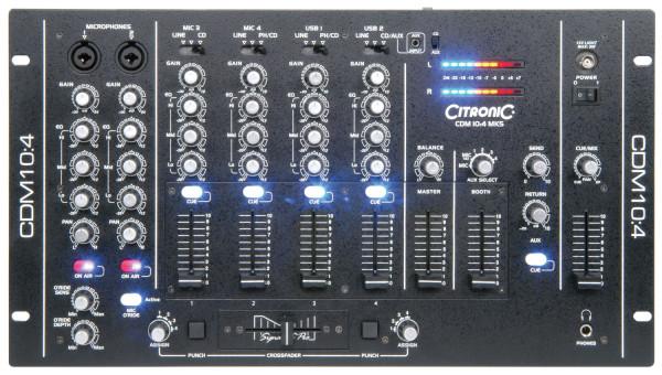 Citronic CDM10:4 MK5 4 Channel USB Mixer ( 171.135UK )