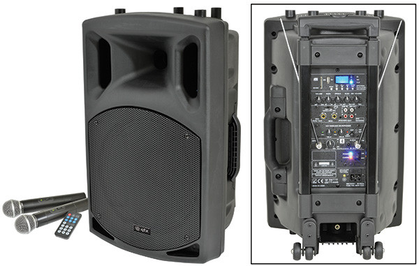 QTX QX15PA portable powered PA Speaker with Bluetooth (178856)