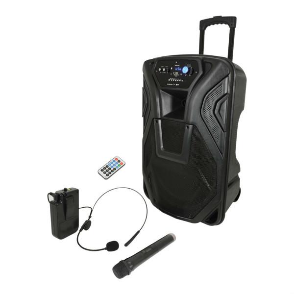 QTX Busker 15U Portable PA System (178968)