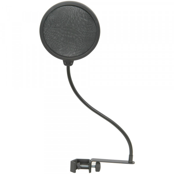 "CITRONIC 188004 5"" Dual Pop Filter With Flexible Gooseneck Connection"