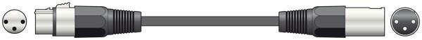 QTX 6m XLR Male to XLR Female Audio Cable ( 190.082UK )