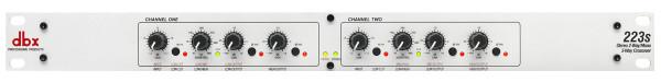 DBX 223S Stereo 2-way / Mono 3-way Crossover
