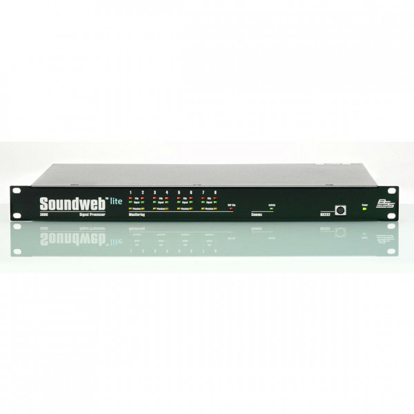 BSS Audio SW3088 Soundweb Lite Sound Processor (EX DEMO)