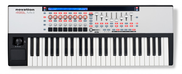 NOVATION 49 SL MK2 USB MIDI Controller
