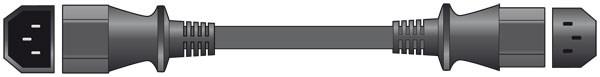 Mercury IEC Mains Extension Lead 0.5m ( 503.607UK )