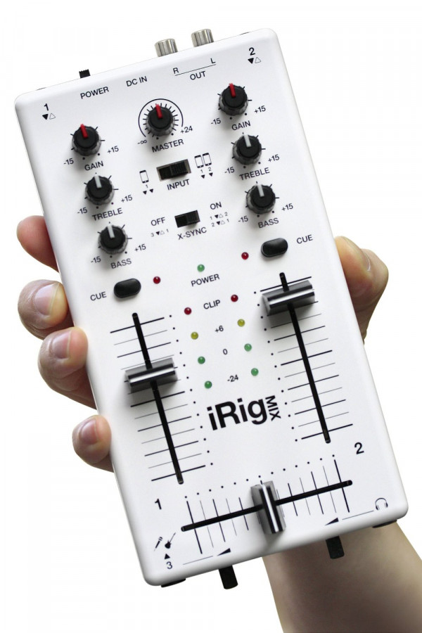 iRig Mix Mobile Mixer for iPhone, iPod Touch and iPad
