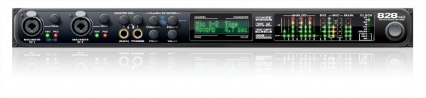 MOTU 828 mk3 Hybrid Firewire / USB 2.0 Audio Interface
