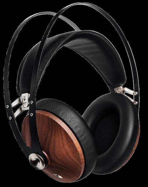 Meze Classics 99 Walnut Silver Wood Headphones