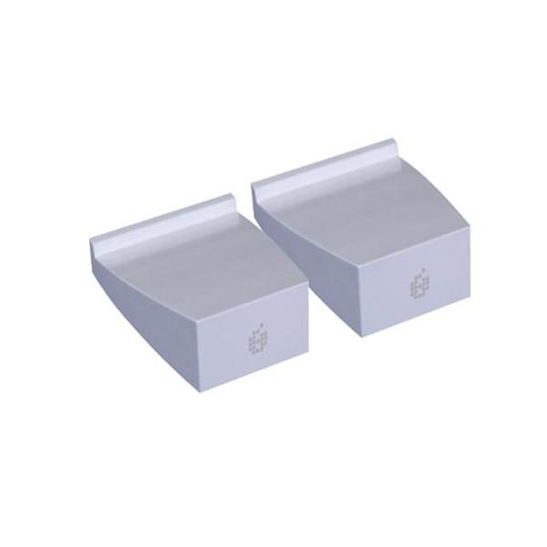 ADAM A5 Desktop Monitor Stands (Pair) - White
