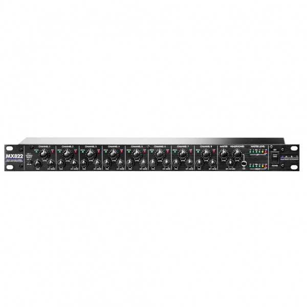 ART MX822 8-Channel Stereo Mixer with Effects Loop