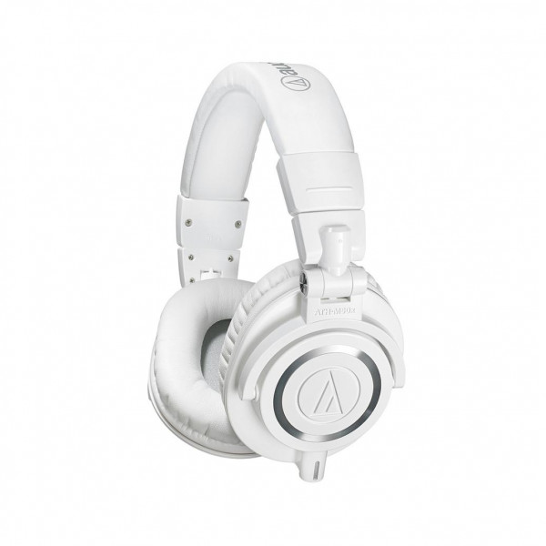 AUDIO TECHNICA ATH-M50xWH Studio Monitor Headphones - White