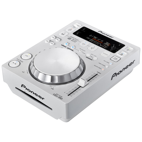 PIONEER CDJ350 Single USB, CD Player & MIDI Controller - White