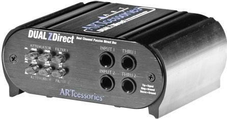 ART Dual Z-Direct Twin Channel Passive DI Box