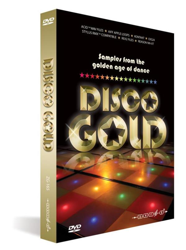 Zero-G Disco Gold Sample Disc