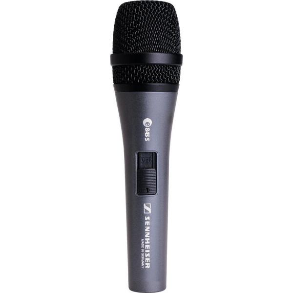 SENNHEISER E845-S Dynamic Handheld Vocal Mic w/ Switch