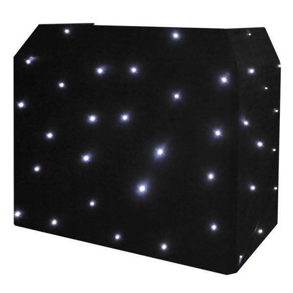 EQUINOX EQLED12B CW LED Star Cloth for DJ Booth