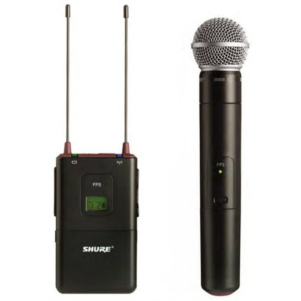 SHURE FP25/SM58 Handheld Wireless System