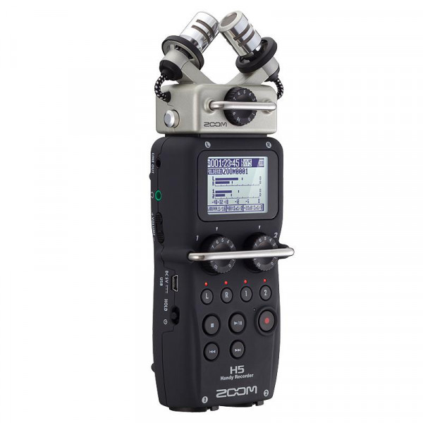 ZOOM H5 Portable Recorder with Interchangeable Mics