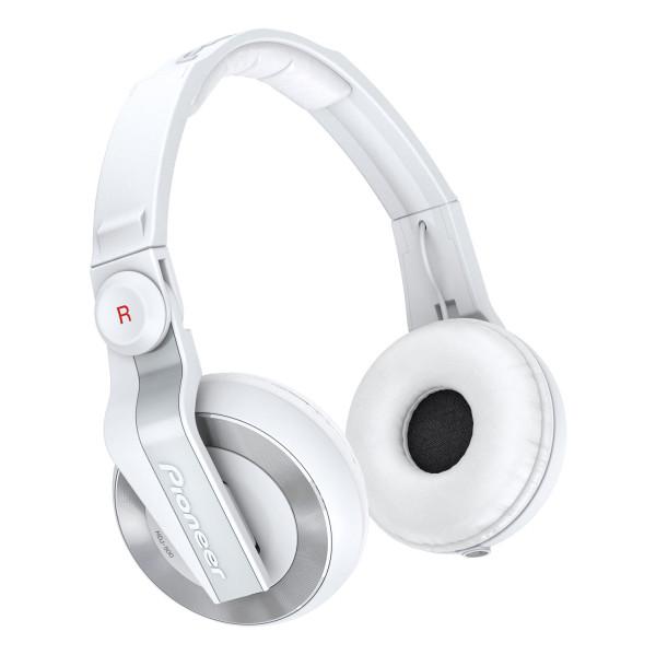 Pioneer HDJ500 DJ Headphones - White