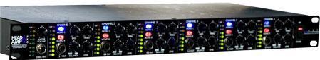 ART HeadAMP 6 PRO 6 Ch Stereo Headphone Amplifier
