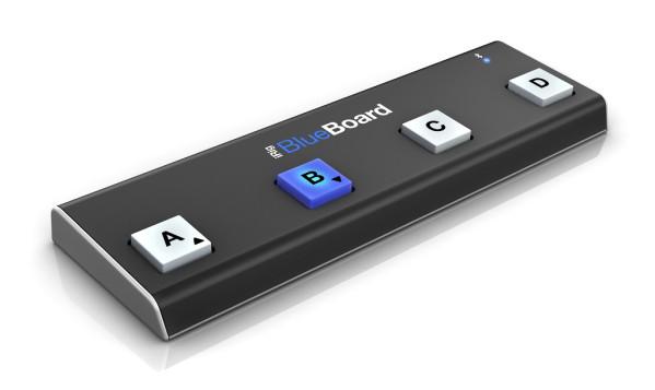 IK Multimedia iRig BlueBoard BlueTooth MIDI Floor Controller
