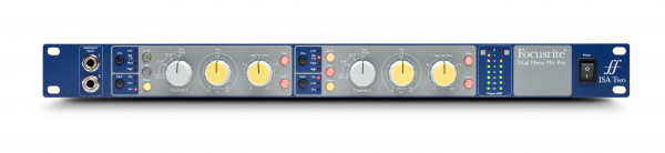 FOCUSRITE ISA Two 2-channel mic preamp