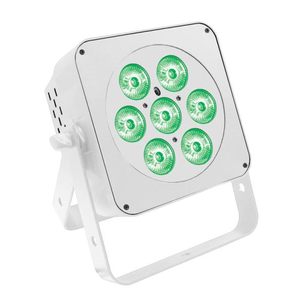 LEDJ Slimline 7Q5 RGBW LED PAR in White ( LEDJ59A )