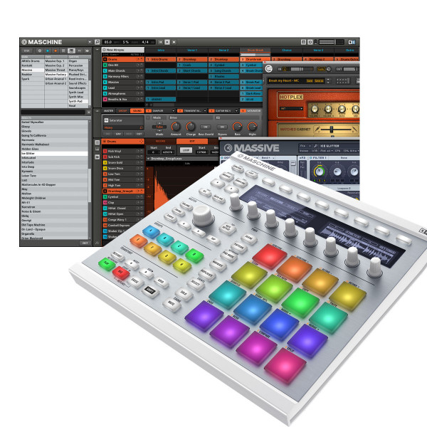NATIVE INSTRUMENTS MASCHINE MK2 Groove Production Studio - White